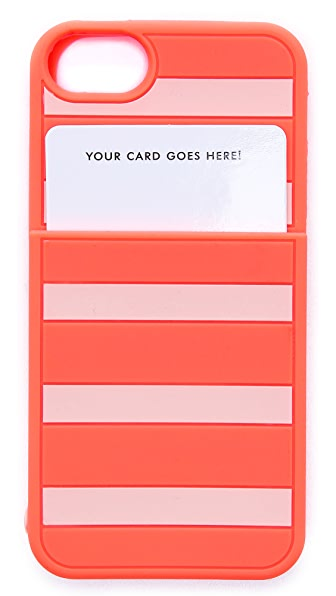 Kate Spade New York Gabrielle Stripe Pocket iPhone 5 / 5S Case