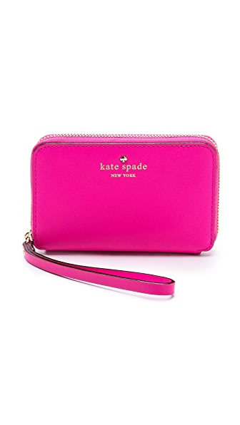 Kate Spade New York Cherry Lane Louie Zip Around Wristlet