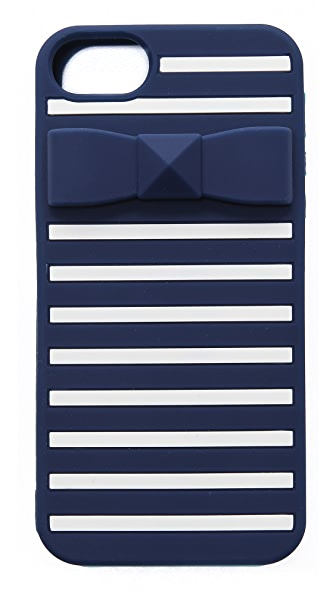 Kate Spade New York Stud Bow Stripe iPhone 5 / 5S Case