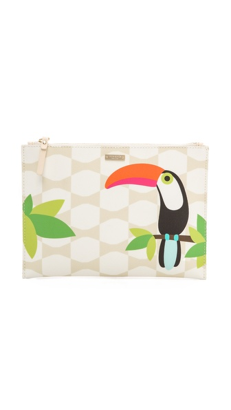 Kate Spade New York Bow Tile Medium Bella Pouch