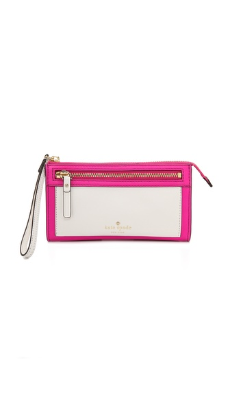 Kate Spade New York York Avenue Sable Wristlet
