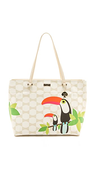 Kate Spade New York Bow Tile Francis Baby Bag