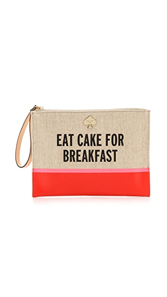 Kate Spade New York Word to the Wise Medium Bella Wristlet