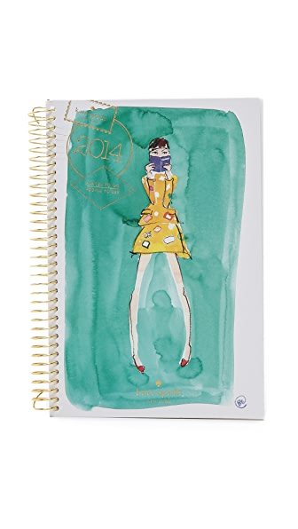Kate Spade New York Desktop Spiral 12 Month Agenda