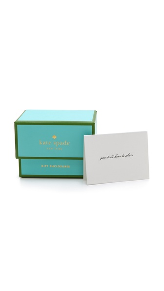 Kate Spade New York Gift Enclosures