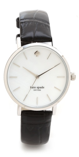Kate Spade New York Embossed Alligator Metro Watch at Shopbop / East Dane