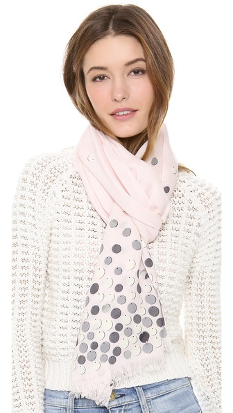 Kate Spade New York All That Glitters Paillettes Scarf
