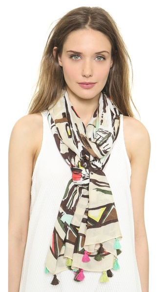 Kate Spade New York Cuban Landscape Scarf