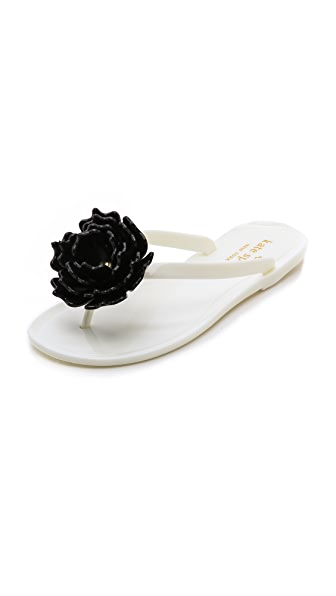Kate Spade New York Flower Flip Flops