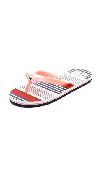 Kate Spade New York Fiji Striped Flip Flops