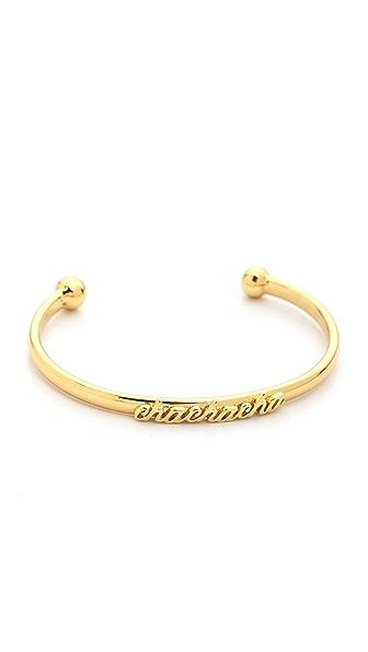 Kate Spade New York Cha Cha Cha Cuff Bracelet