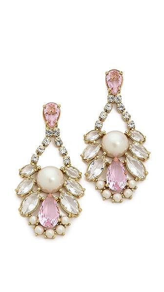 Kate Spade New York Sunrise Cluster Cupchain Chandelier Earrings