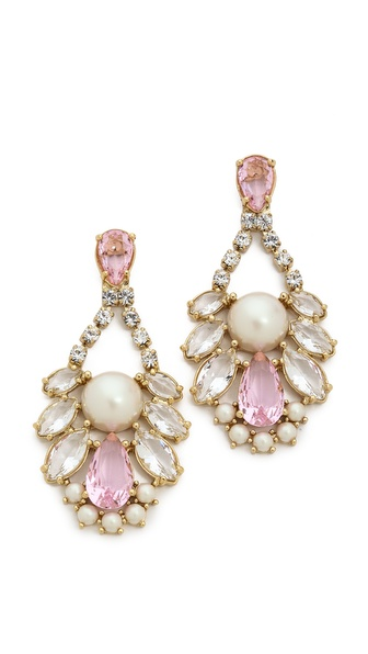Kate Spade New York Sunrise Cluster Cupchain Chandelier Earrings
