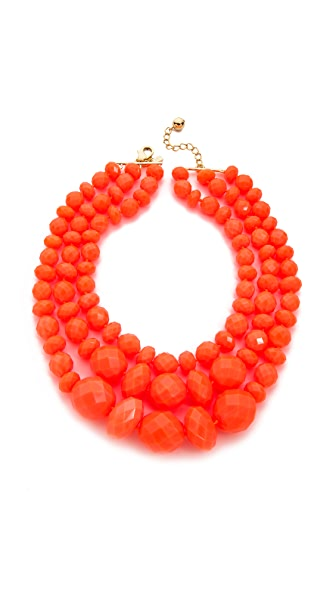 Kate Spade New York Give It A Swirl Triple Strand Necklace