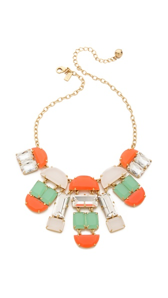 Kate Spade New York Varadero Tile Necklace
