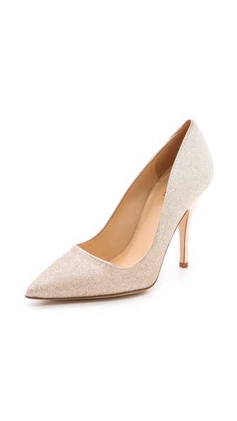 Kate Spade New York Licorice Glitter Pumps