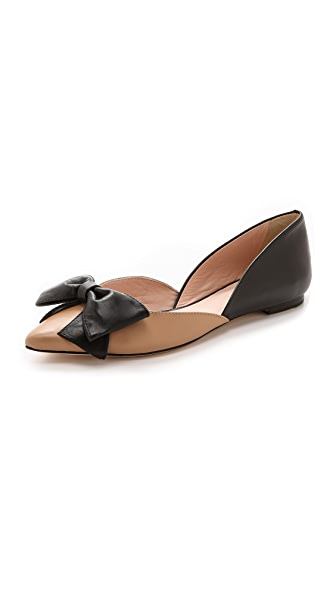 Kate Spade New York General Bow d'Orsay Flats