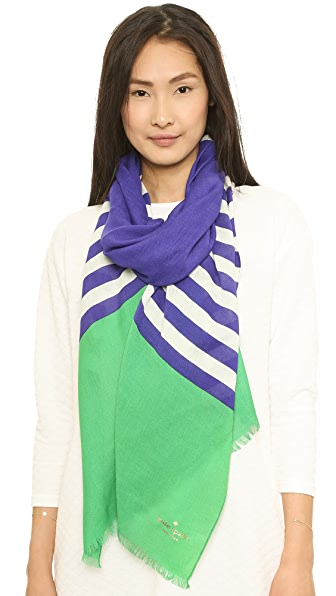 Kate Spade New York Six Month Stripe Scarf