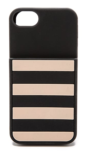 Kate Spade New York Kinetic Stripe Pocket iPhone 5 / 5S Case