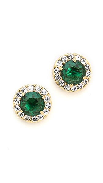 Kate Spade New York Basket Pave Stud Earrings