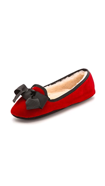 Kate Spade New York Kate Spade New York Sabine Velvet Slippers (Red)