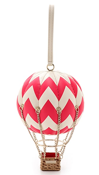 Kate Spade New York Flights Of Fancy Balloon Bag - Antique White/Aladdin Pink