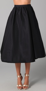 If you're not ready to splurge, Rachel Roy's Swing Skirt ($212) is more...