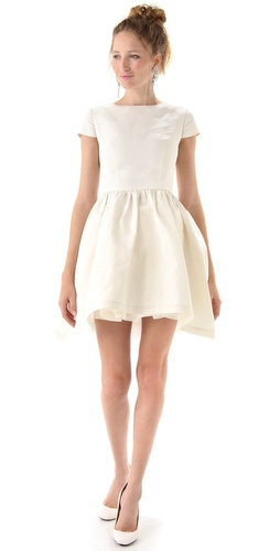 Katie Ermilio Petticoat Tea Dress