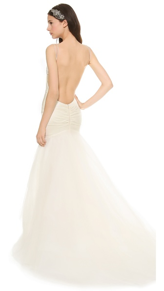 Katie May Charleston Low Back Gown