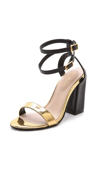 Kat Maconie London Ruth Double Ankle Strap Sandals