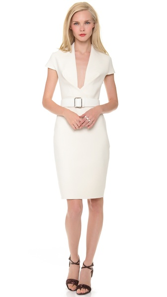 Kaufman Franco Cross Front Dress
