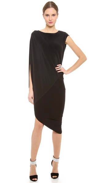 Kaufman Franco Asymmetrical Dress
