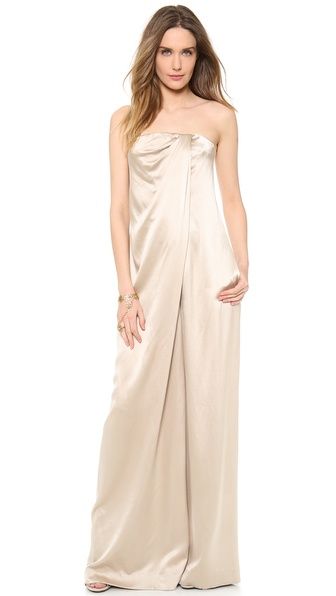 Kaufman Franco Strapless Jumpsuit