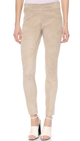 Kaufman Franco Suede Leggings