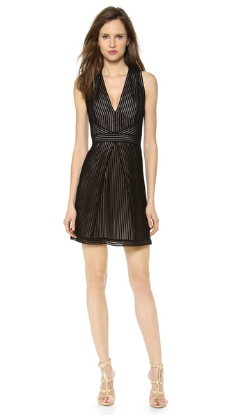 Kaufman Franco Sleeveless Lace Dress