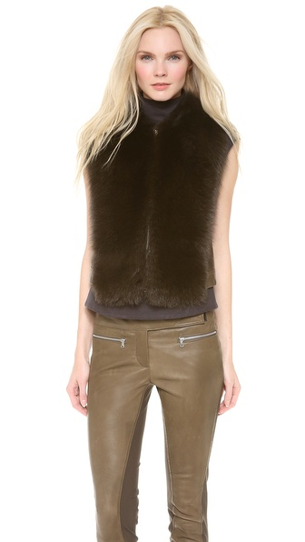 Kaufman Franco Fox Fur Vest