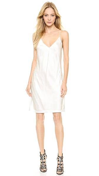Kaufman Franco Silk Slip Dress
