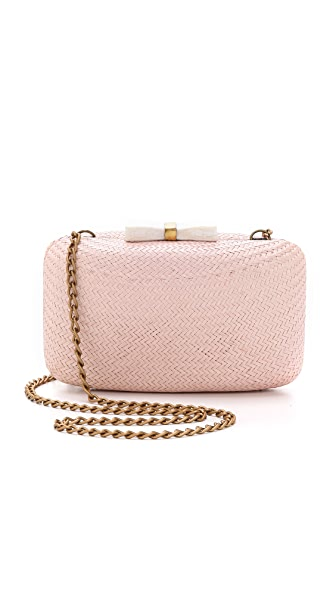 Kayu Anne Straw Clutch