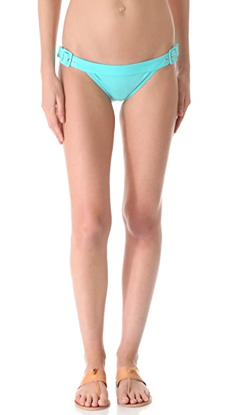 Karla Colletto Belt Buckle Bikini Bottoms