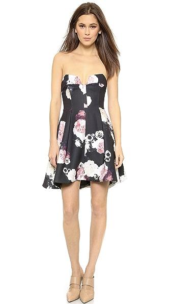 Kupi Keepsake haljinu online i raspordaja za kupiti Keepsake Divide Mini Dress Dark Flower Bloom online