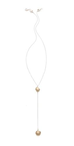 Kelacala Q Rock On Drop Necklace