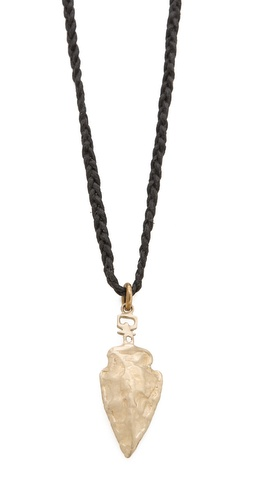 Kelacala Q Arrowhead Necklace