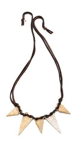 Kelacala Q Tri Cinque Necklace