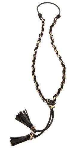 Kelacala Q Black Adder Necklace