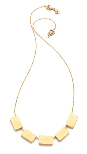 Kelacala Q Goldbrick Necklace