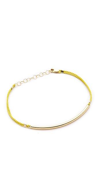 Kristen Elspeth Silk Arc Bracelet