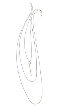 Kristen Elspeth Layered Monolith Necklace