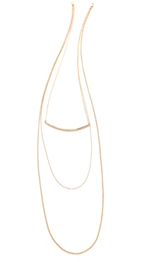 Kristen Elspeth Layered Arc Necklace
