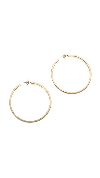 Kristen Elspeth Bar Hoop Earrings