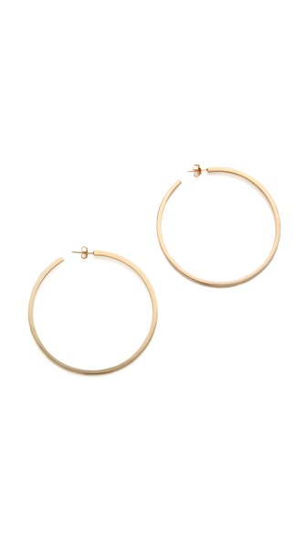 Kristen Elspeth Bar Hoop Earrings